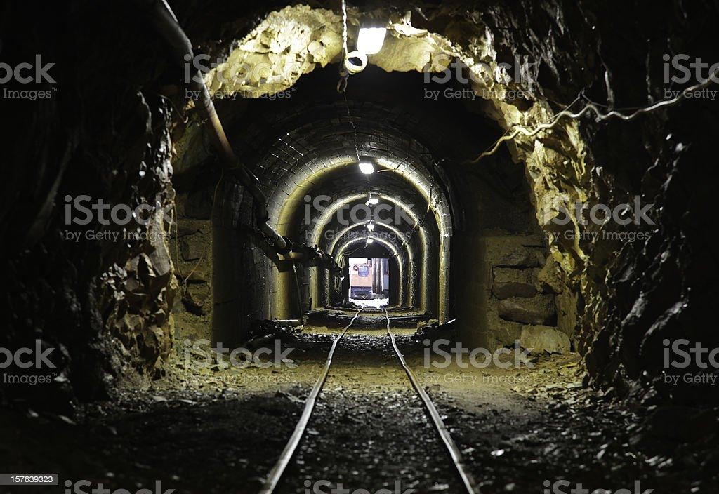 mine stock photo