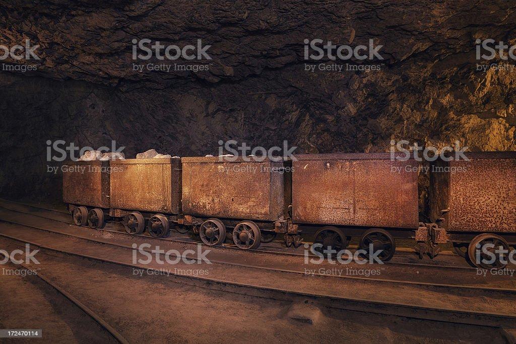 Mine Train stock photo