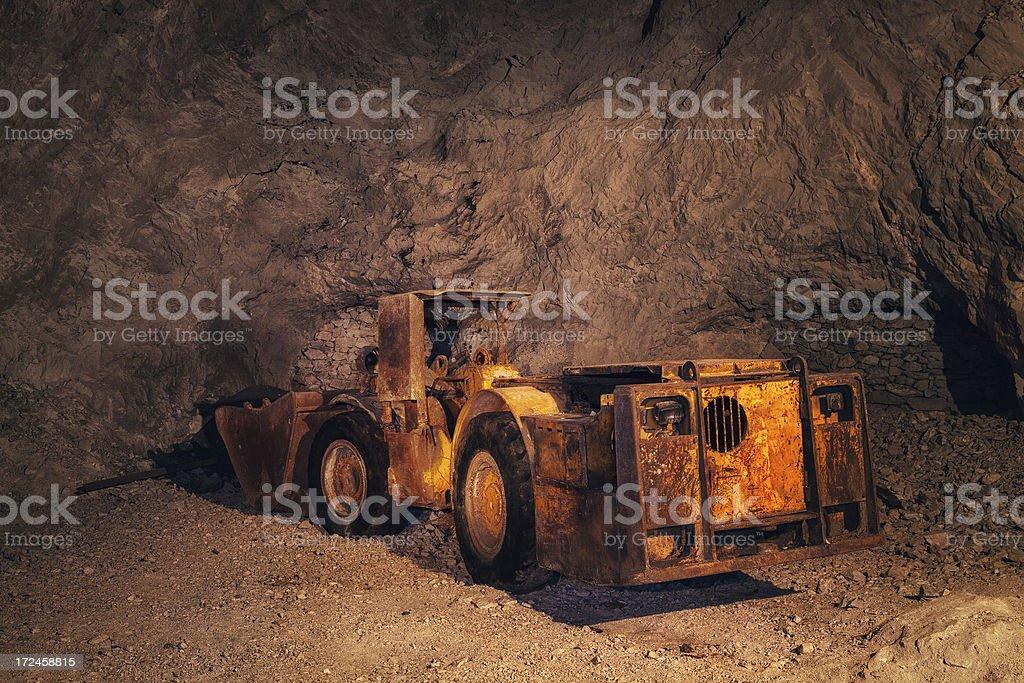 Mine Truck stock photo