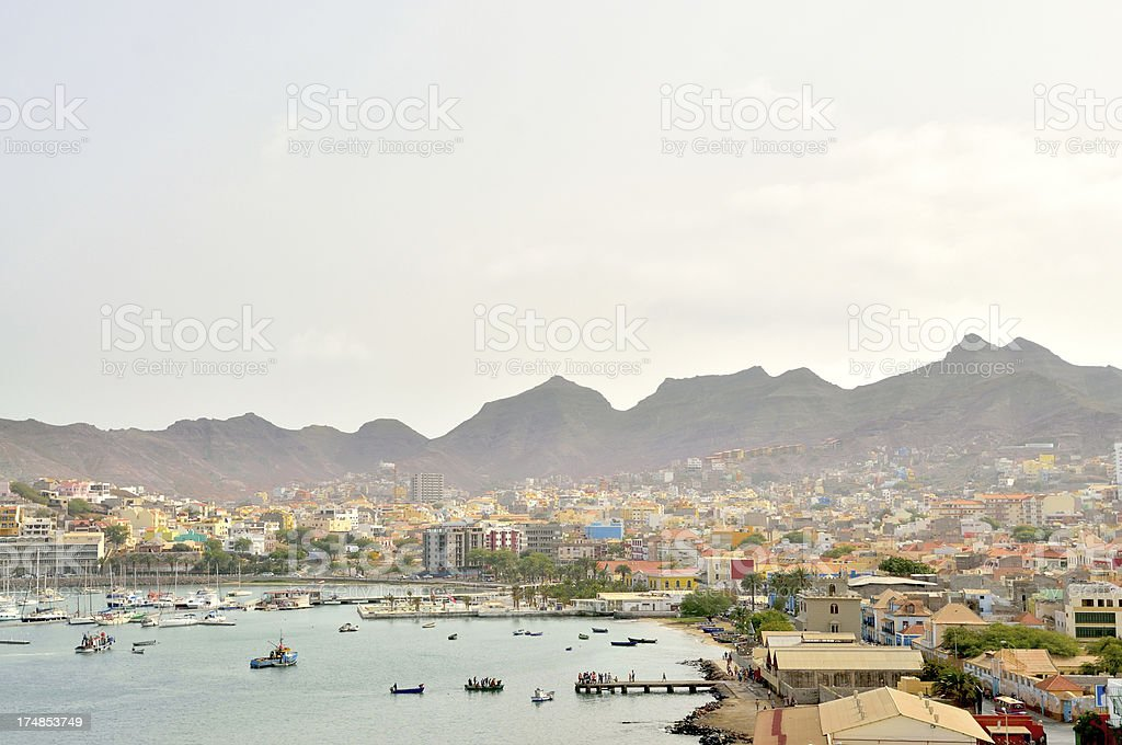 Minelo City View stock photo