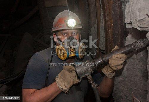 968849772istockphoto Miner working underground 479408862