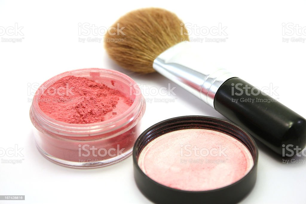 Mineral Blush stock photo