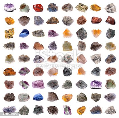 istock Mineral collection 478565650