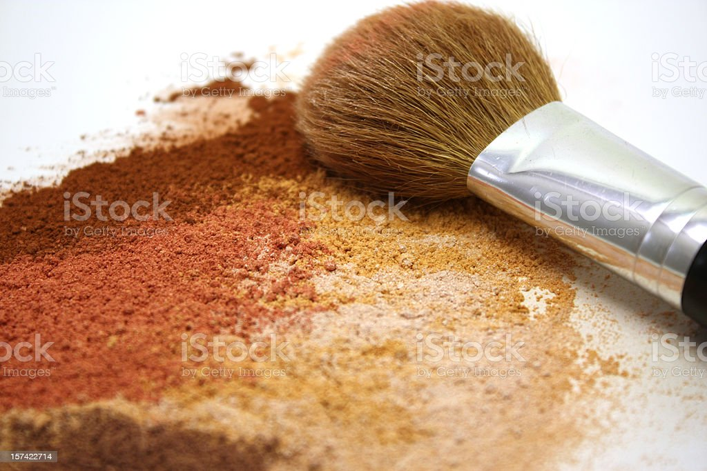 Mineral Foundation stock photo
