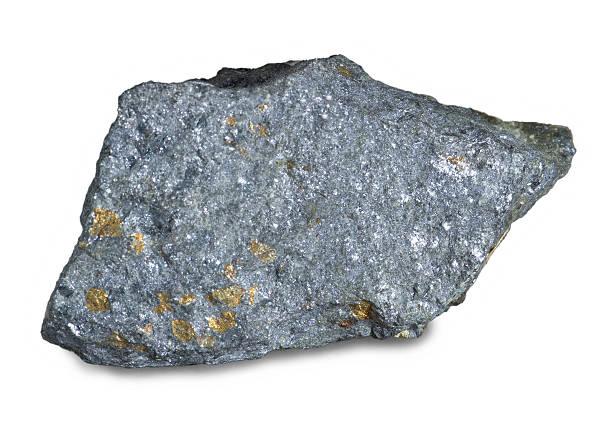 eau minérale (galena) mènent clin d'œil - plomb en métal photos et images de collection