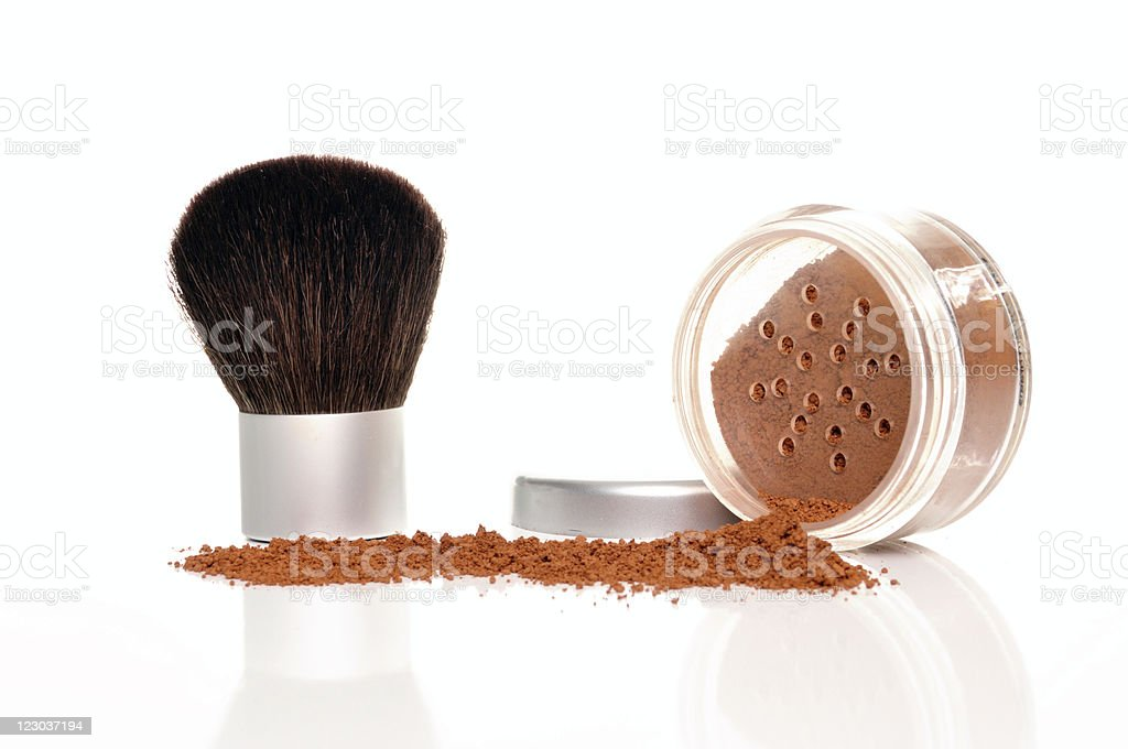 Mineral Makeup royalty-free stock photo