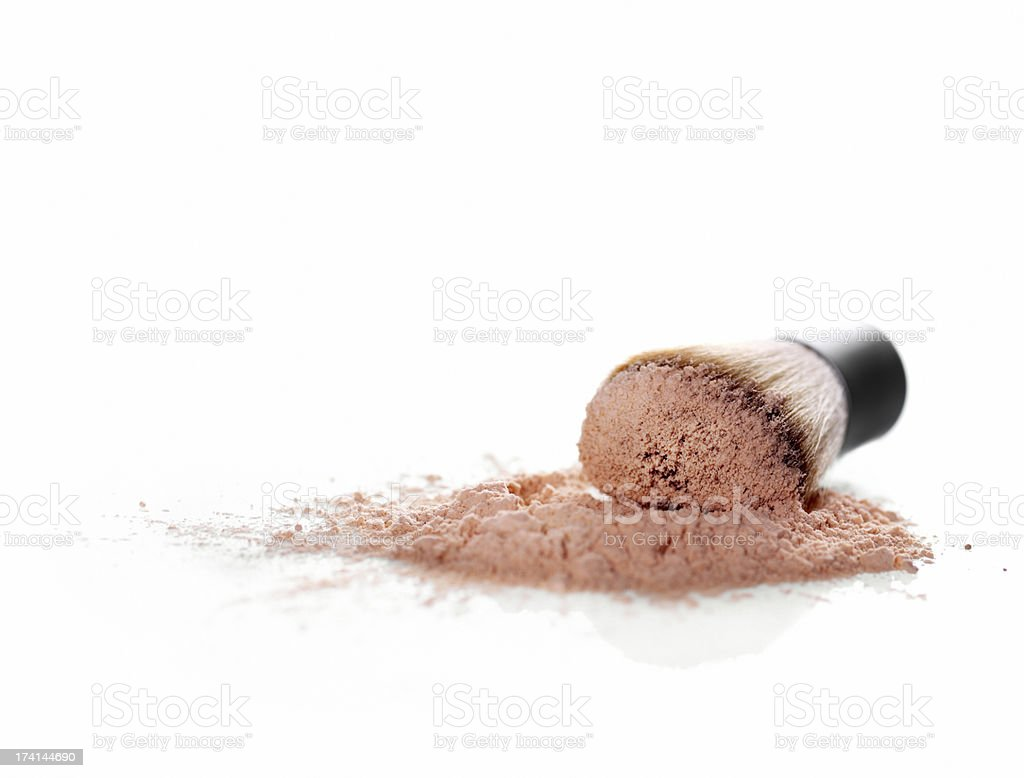 Mineral Powder stock photo