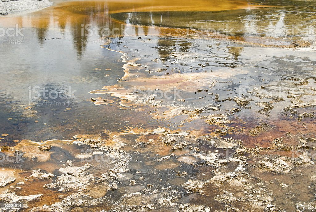 Mineral Springs Lizenzfreies stock-foto