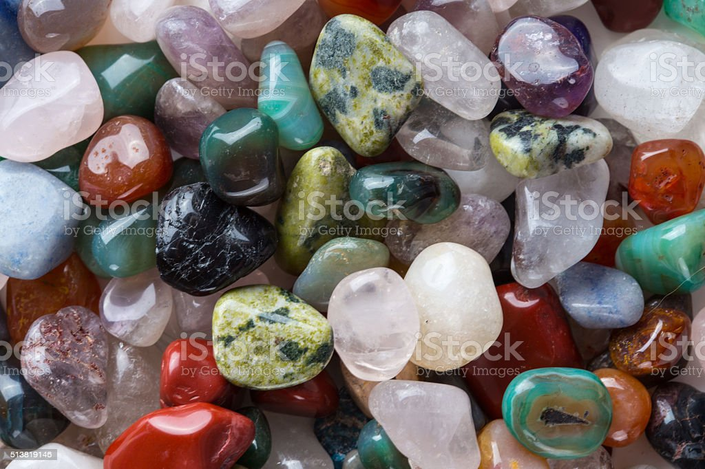 Mineral stone background stock photo