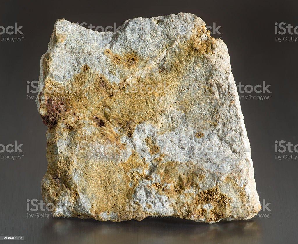 Mineral stone - corundum stock photo