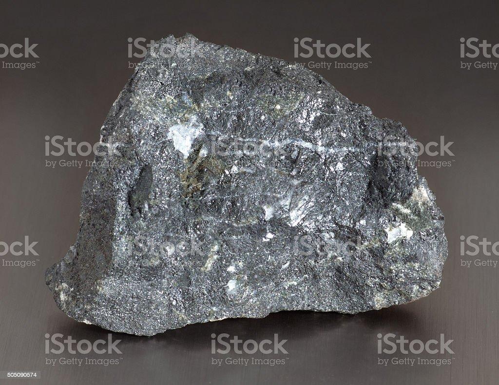 Mineral stone - magnetite stock photo
