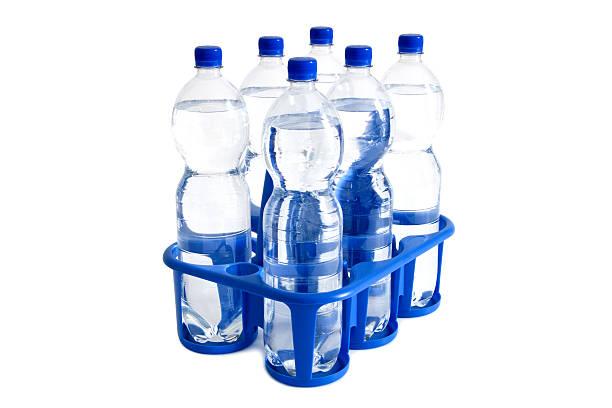 de l'eau minérale - pack de six photos et images de collection