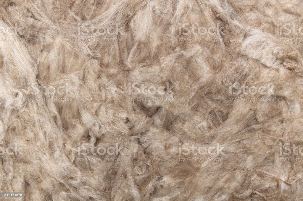 Mineral wool background. stock photo