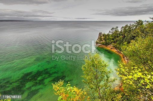 627263082 istock photo Miners Castle At Pictured Rocks National Lakeshore 1194746131