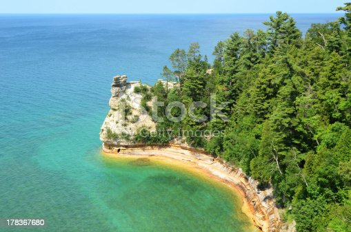 136169151istockphoto Miners Castle at Pictured Rocks National Lakeshore 178367680