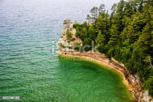 136169151 istock photo Miner's Castle In Pictured Rocks National Lakeshore Michigan 502298183