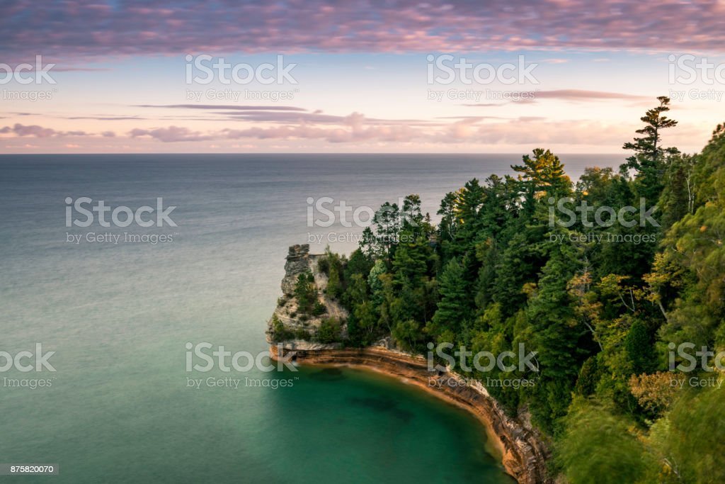 Miners Castle stock photo