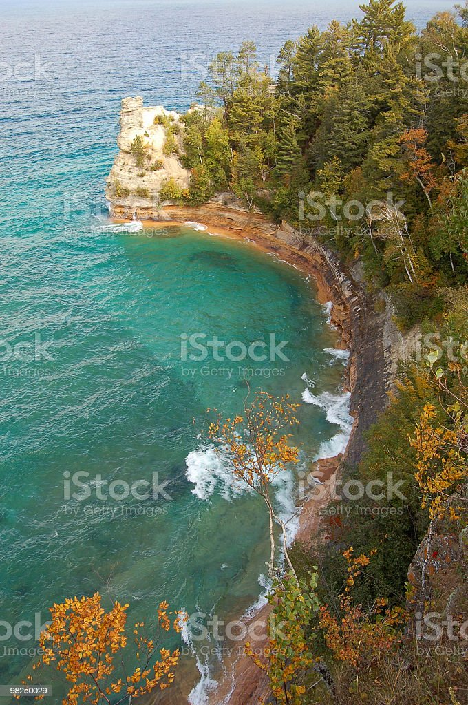 Miners Castle, Pictured Rocks royalty-free stock photo