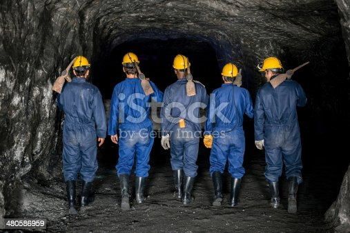 508140747 istock photo Miners ready to work 480586959