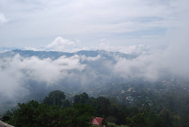 mines view park - baguio city stock photos and pictures