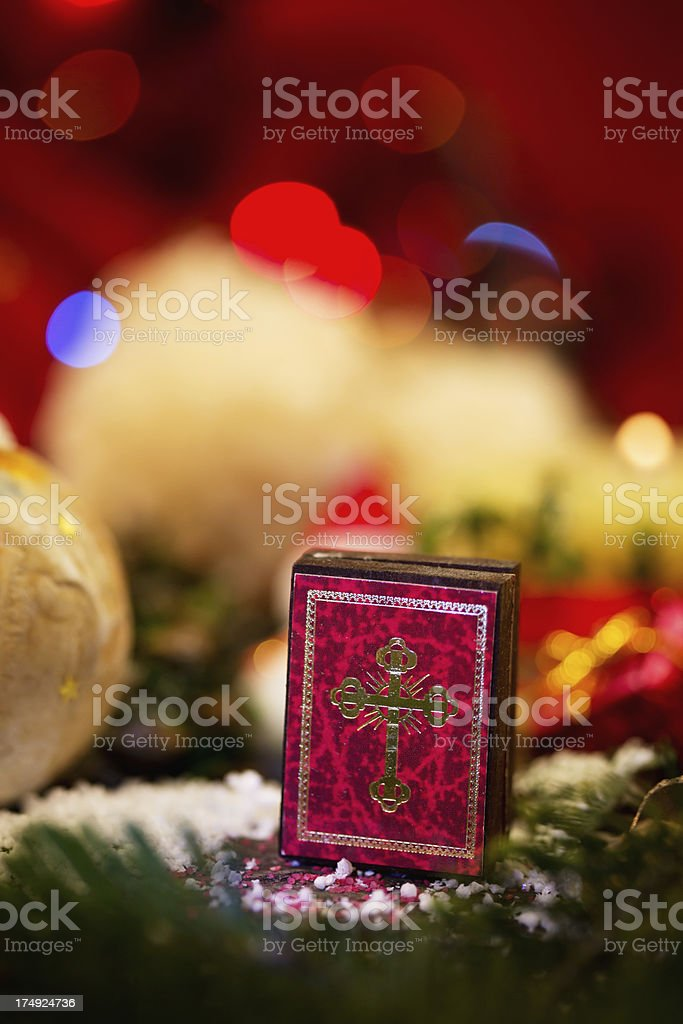 Mini bible stock photo