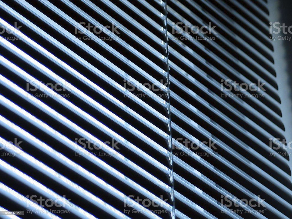 Mini Blinds 2 royalty-free stock photo