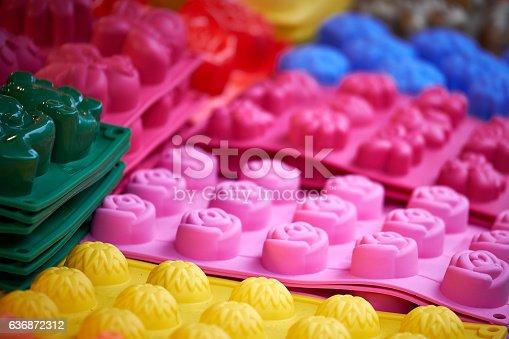 istock Mini cake molds 636872312