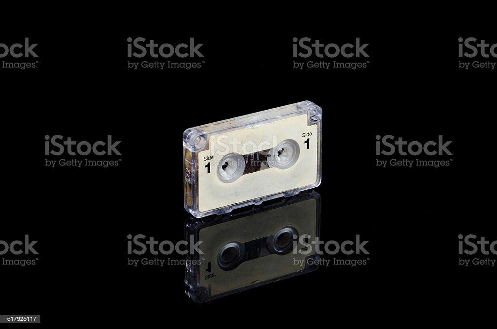 Mini cassette tape stock photo