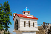 Traditional mini church on Chios, by the road