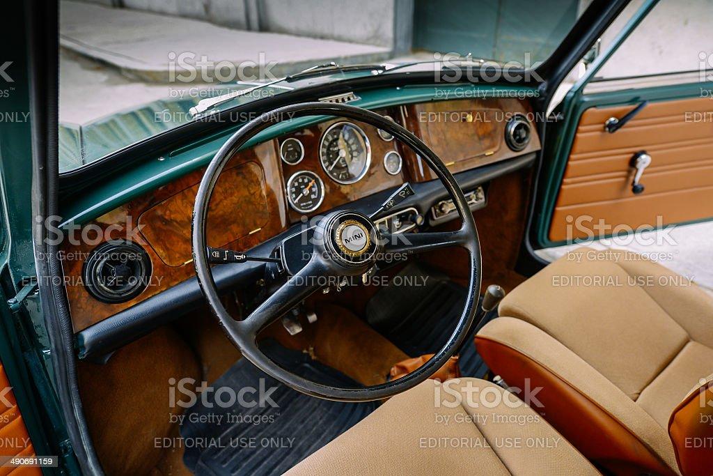 Mini Cooper Classic Interior Stock Photo & More Pictures of Austin ...