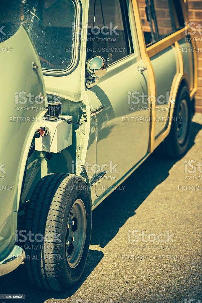Mini Cooper Classic royalty-free stock photo
