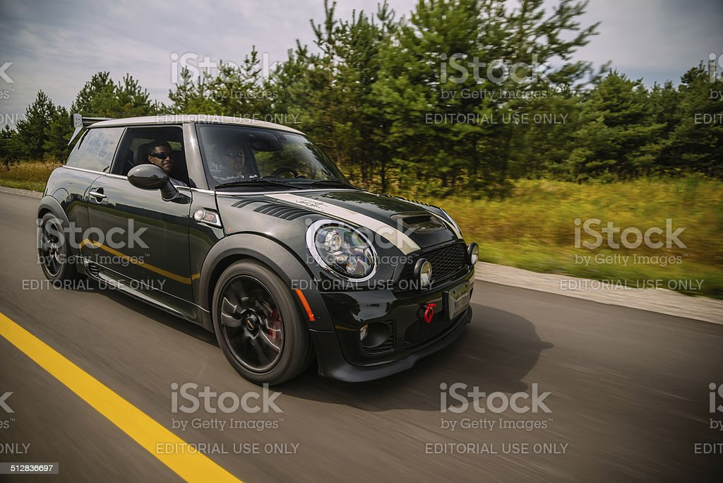 Mini Cooper S  WC50 Edition stock photo