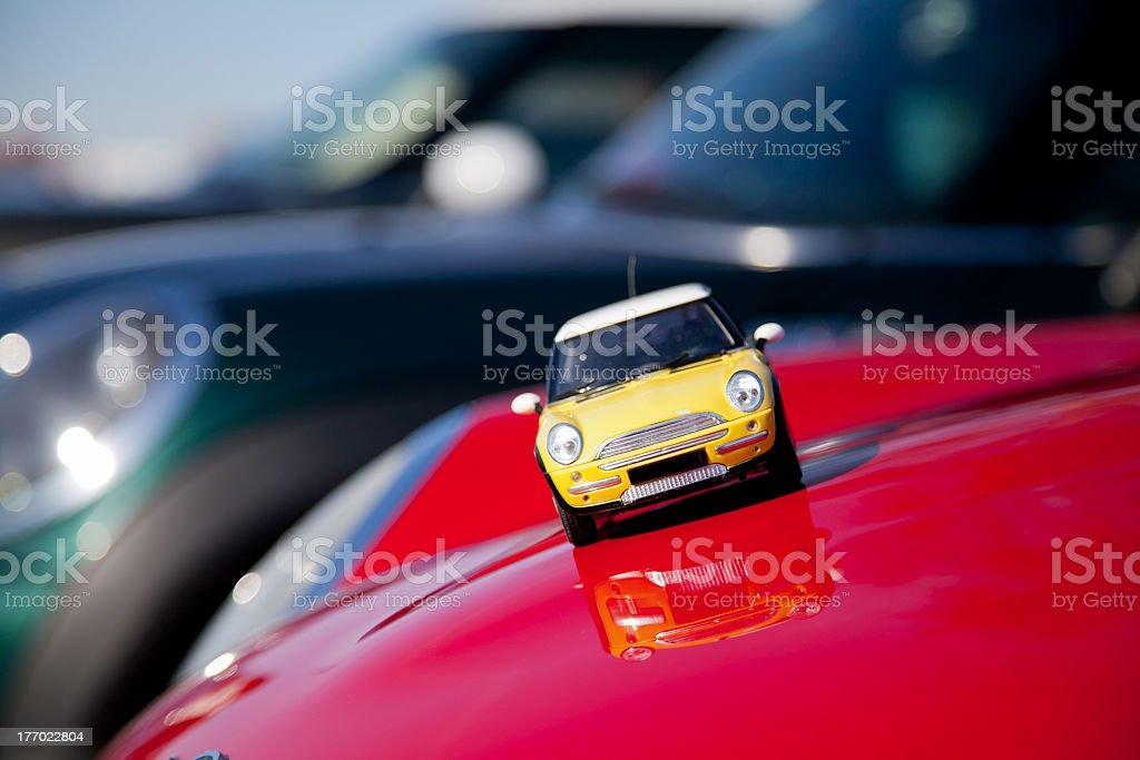 Carro de brinquedo - foto de acervo