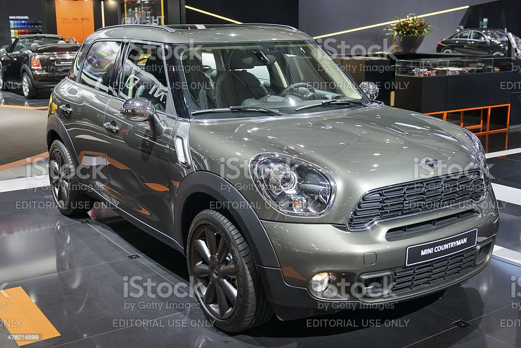 Mini Countryman royalty-free stock photo