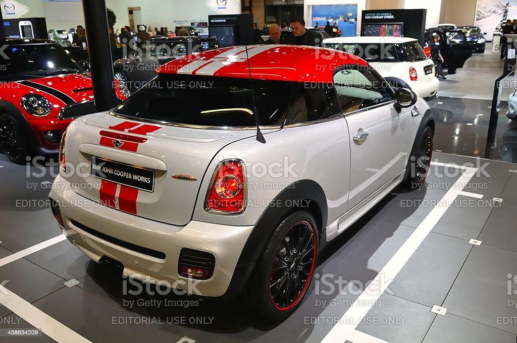 Mini Coupe royalty-free stock photo