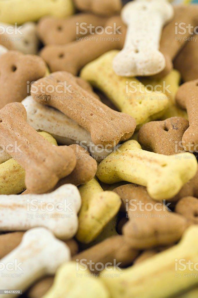 Kleiner Hund Knochen biscuits, engen Tiefe von gespeichert Lizenzfreies stock-foto