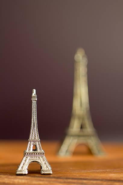 mini Eiffel tower stock photo