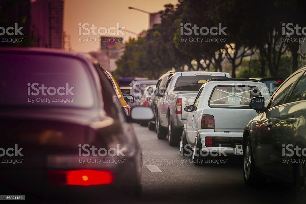 Mini Flush Car stock photo