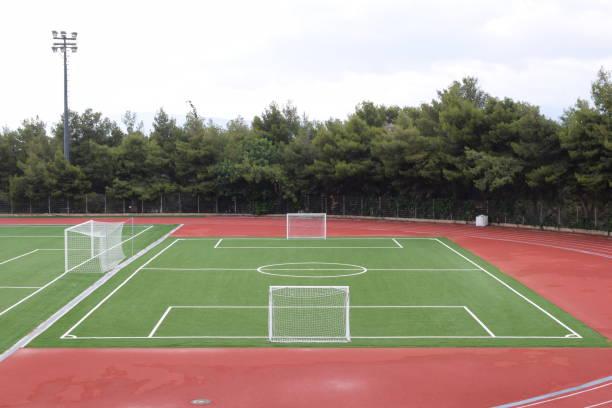 Campo de mini fútbol 5 x 5. - foto de stock