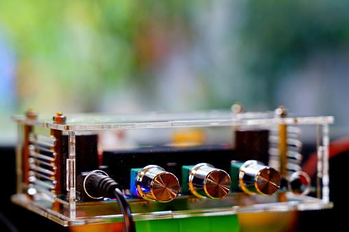 amplifier mini in clear case