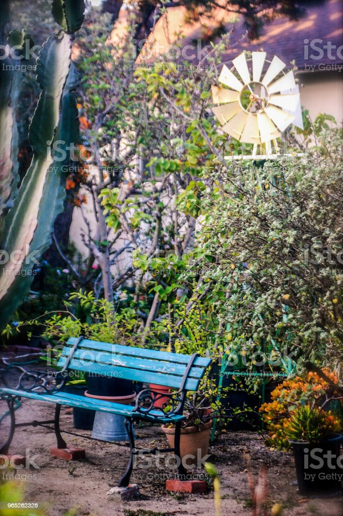 Mini Park in Summer in Venice, CA royalty-free stock photo