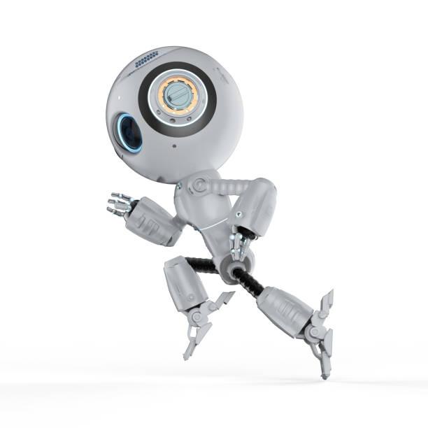 Mini-Roboter laufen – Foto