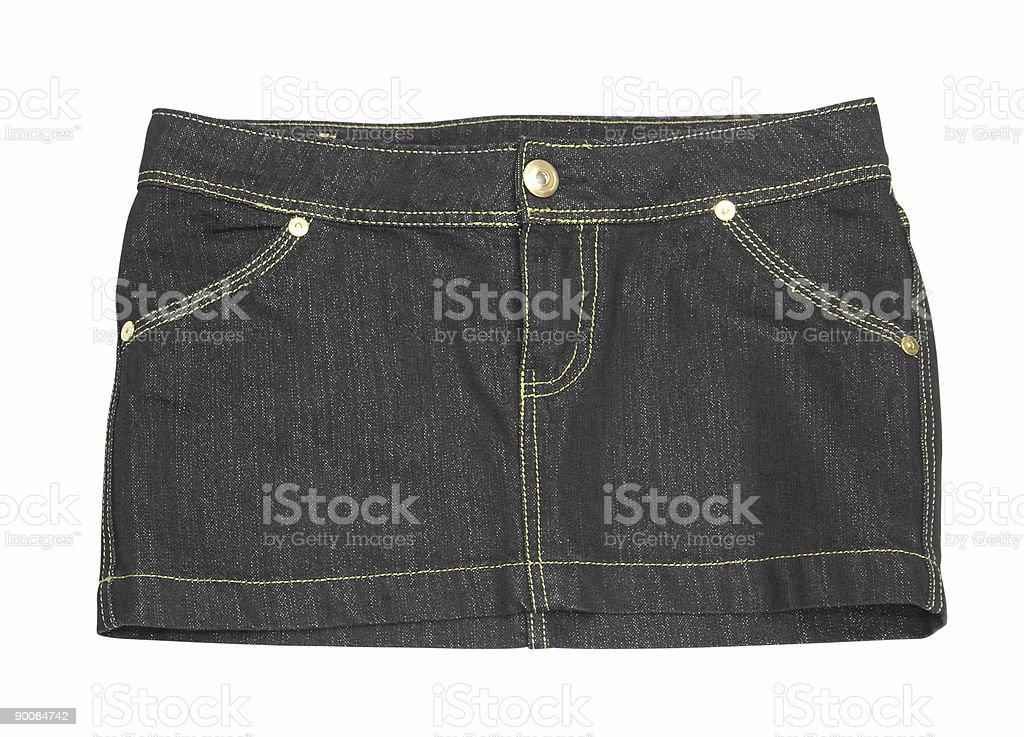 mini skirt royalty-free stock photo