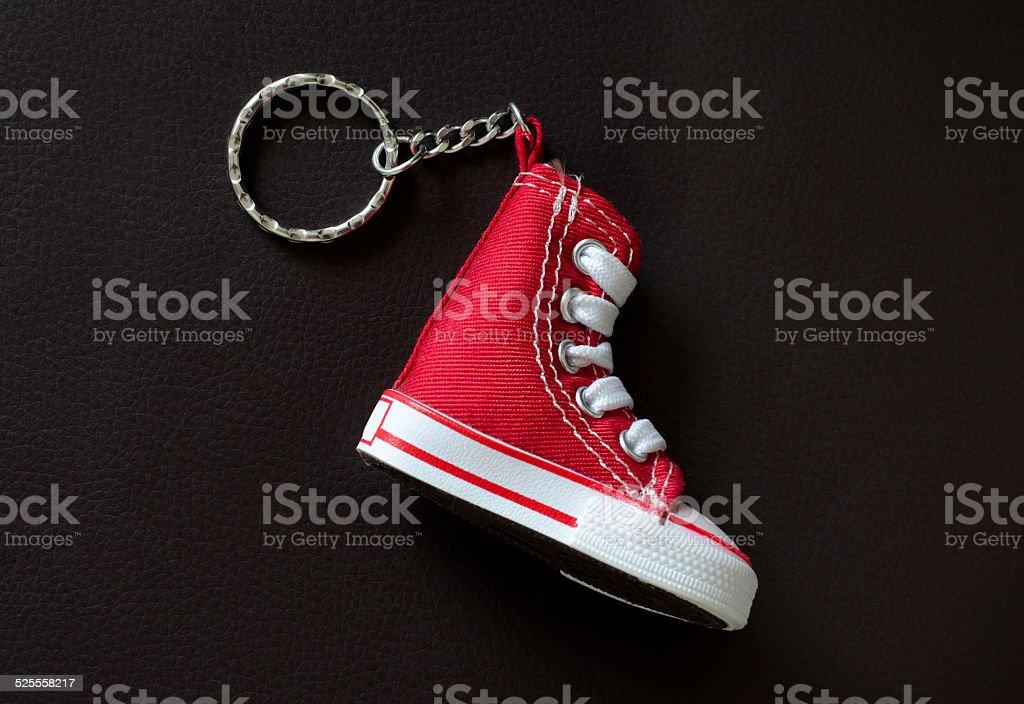 mini sport shoe stock photo
