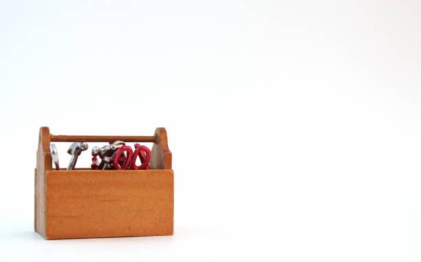 Mini Tool Box stock photo