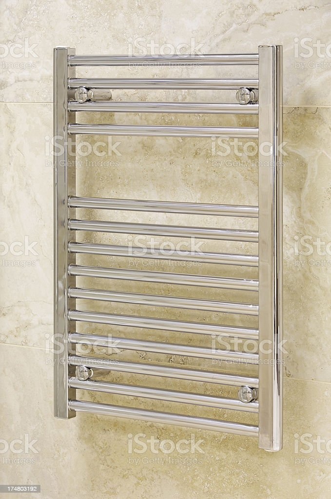 mini towel radiator royalty-free stock photo