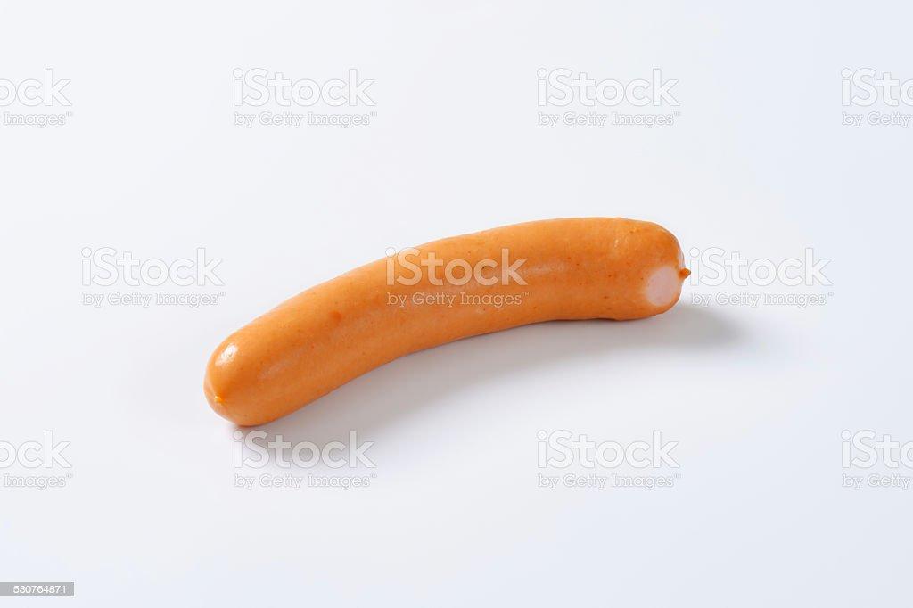 Mini Vienna sausage stock photo