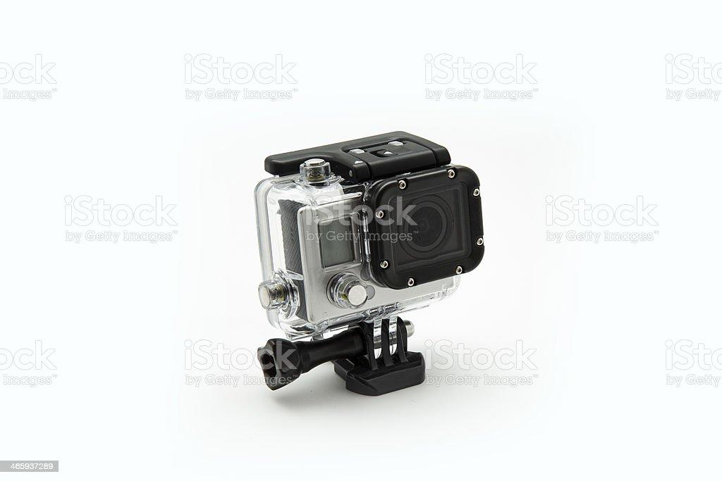 mini waterproof camera stock photo