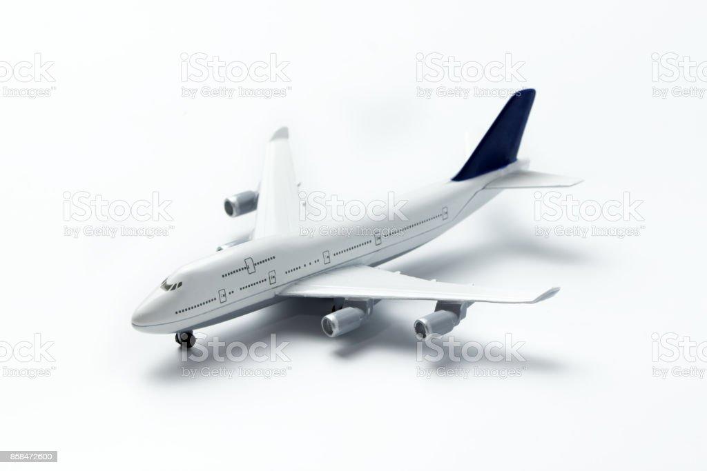 Avion miniature isolée - Photo