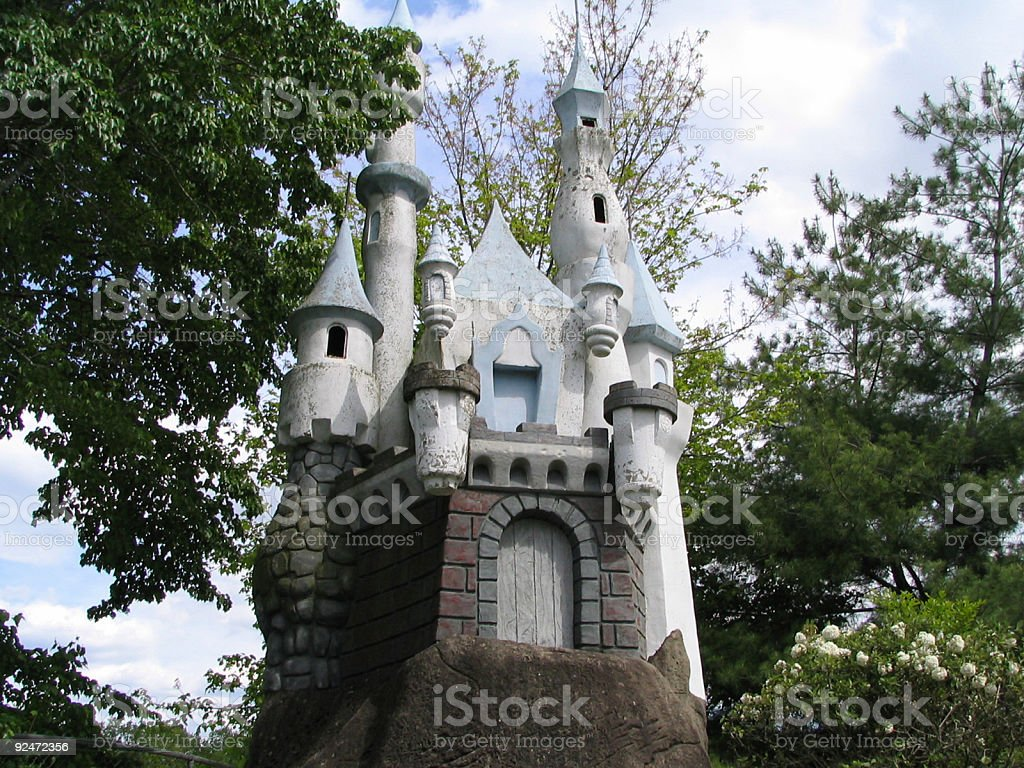 Miniature Castle royalty-free stock photo